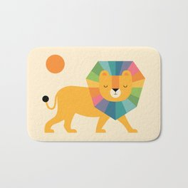 Lion Shine Bath Mat