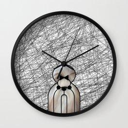 Shin-Tzu Dog Wall Clock