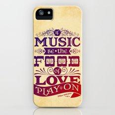 Food of Love  iPhone (5, 5s) Slim Case