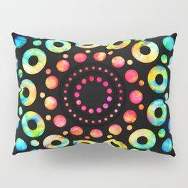 Multi-Color Mandala Tie-Dye Circle Shapes Pillow Sham
