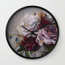 Death Of A Sixteen Year Old Wall Clock