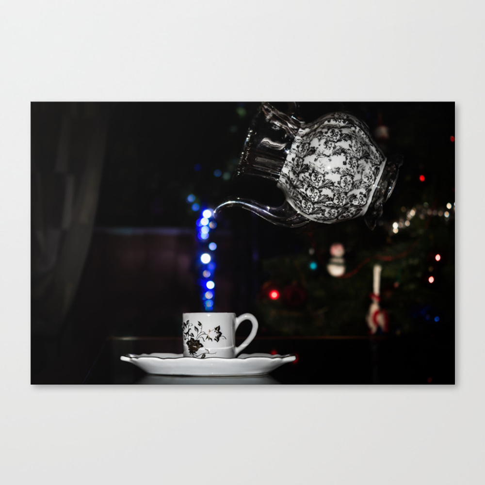 A Cup Of Christmas! Canvas Print by Kostas_lio CNV7998801