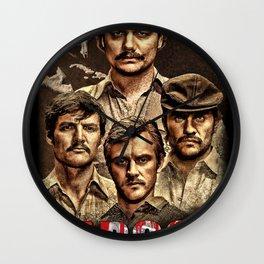 Narcos Pablo Escobar Wall Clock