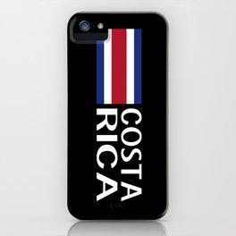 Costa Rica: Costa Rican Flag & Costa Rica iPhone Case