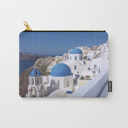 Oia Village in Santorini Carry-All Pouch