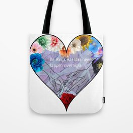 Slightest Touch Tote Bag