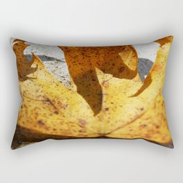 Clutching Leaf 2 Rectangular Pillow