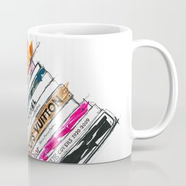 Birkin Bag and Fashion Books Coffee Mug