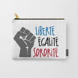 Liberte, Egalite, Sororite Carry-All Pouch