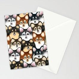 Pomsky Pattern Stationery Cards