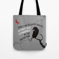 Beauty by Poe Tote Bag