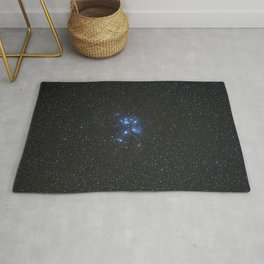 Peiades star cluster and a Orionid Meteor Rug