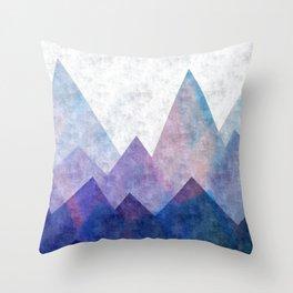 Fresh Peaks Throw Pillow