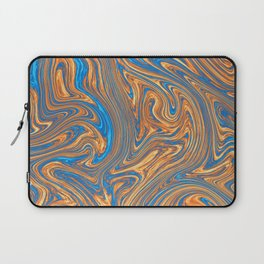 Coffee pattern with notes of sea breeze Laptop Sleeve
