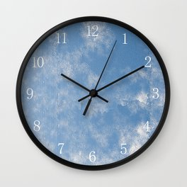 Abstract of condensation water flowing down Wall Clock