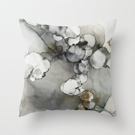 The Fog Whispers Softly Throw Pillow