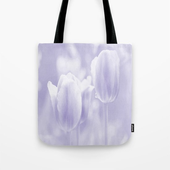 Day dream in shades of violet - spring atmosphere Tote Bag
