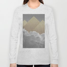 Silence is the Golden Mountain Long Sleeve T-shirt