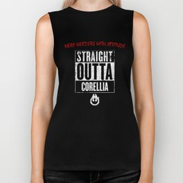 Straight Outta Corellia Biker Tank