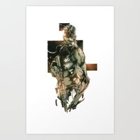 metal gear solid Art Prints featuring Metal Gear Solid 5 by Hisham Al Riyami