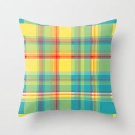 Striped 2X Throw Pillow