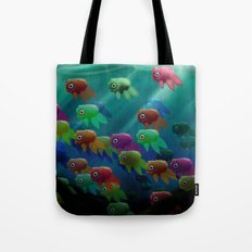 Swim On By Tote Bag