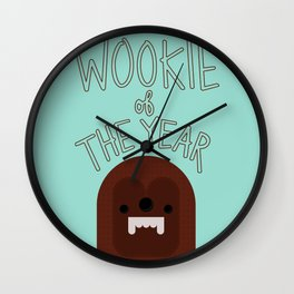 Wookie of the Year Wall Clock
