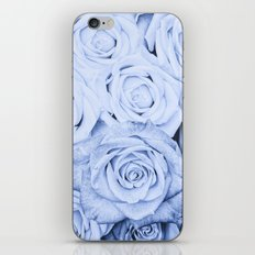 Some people grumble - Blue Rose, Floral Roses Flower Flowers on #Society6 iPhone & iPod Skin