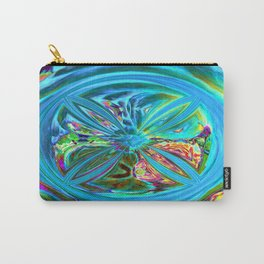 Inverted/Solarized Abstract 9 Carry-All Pouch