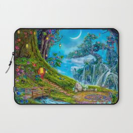 Day Moon Haven Laptop Sleeve