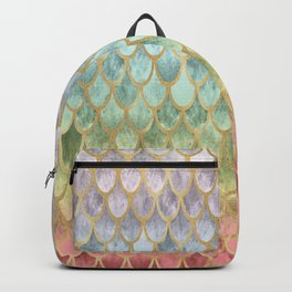 Rainbow Mermaid Scales Backpack