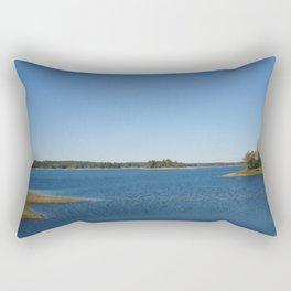 Scituate Reservoir, Rhode Island Photograph #3 by Jeanpaul Ferro Rectangular Pillow