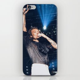 Harry Blowing Kisses iPhone Skin