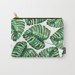 Tropical Greenery #society6 #decor #buyart Carry-All Pouch