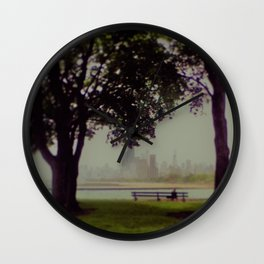 Chicago Dreaming Wall Clock
