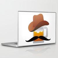 beer Laptop & iPad Skins featuring Beer by stewask8