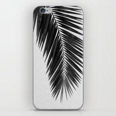 Palm Leaf Black & White I iPhone Skin