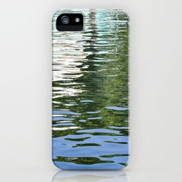 Colorful Reflections Abstract iPhone Case
