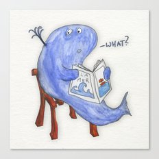 the whatwhale Canvas Print