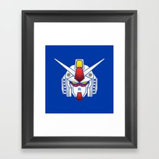 Mobile Suit in Disguise Framed Art Print