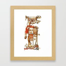 Prince Hal from Henry IV Framed Art Print
