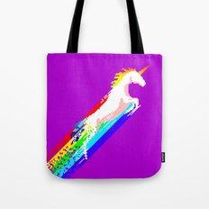 Pixel Unicorn Tote Bag