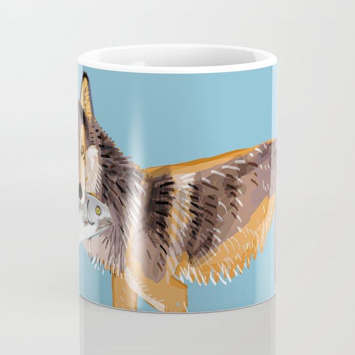 Totem Coastal wolf (Vancouver Wolf) Coffee Mug