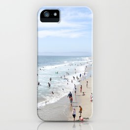 manhattan beach iPhone Case