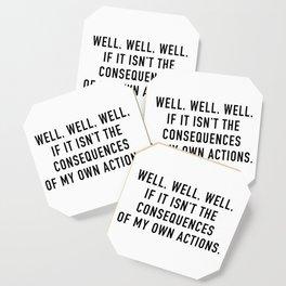 Consequences Coaster