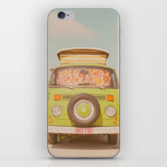 let's ride through europe iPhone & iPod Skin