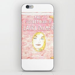 the secret diary of Laura Palmer iPhone Skin