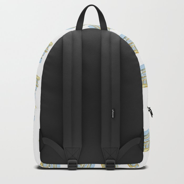 Golden Rings Backpack