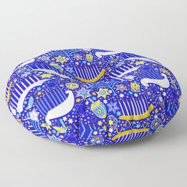 Haute Hanukkah Floor Pillow