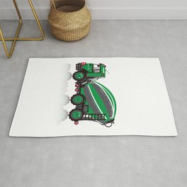 Cooper Cement Mixer - Orchard Green Rug